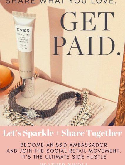 Let's Sparkle + Share Together