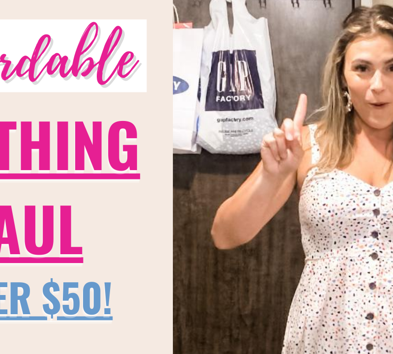 {Youtube Video} Outlet Shopping Haul + Try on!