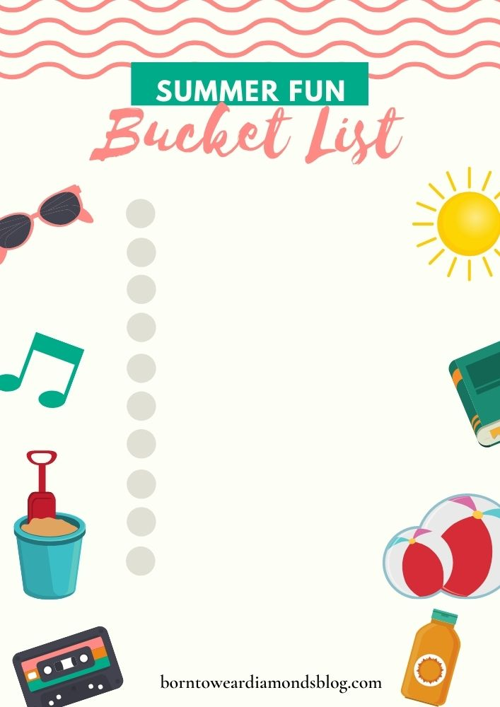 How to Create A Summer Bucket List!
